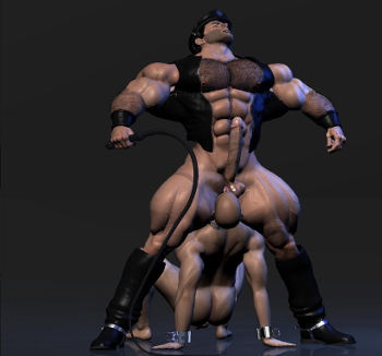 Gay animated muscle porn